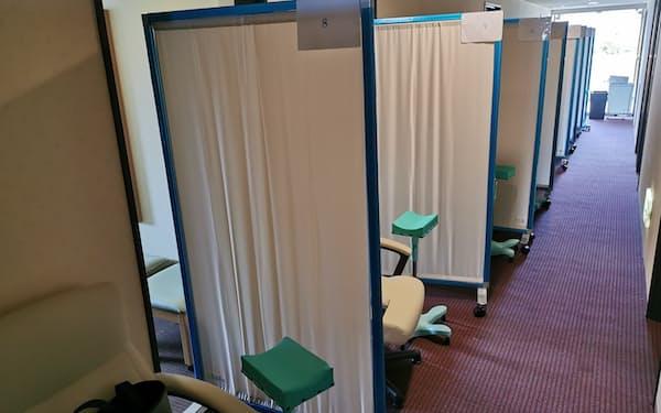 埼玉県が宿泊療養施設内に開設する抗体カクテル療法専用の臨時医療施設