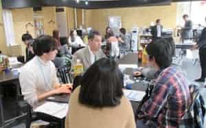 筑波大学は発達障害の学生と企業の交流会を実施する(写真は2019年)