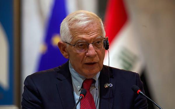 EUのボレル外交安全保障上級代表=AP