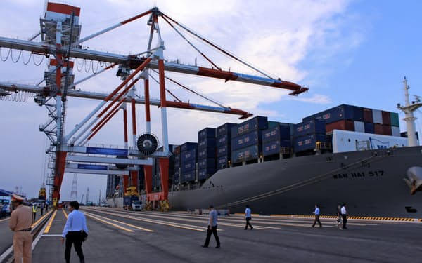 RCEPが発効すればASEANなどの貿易が活発になるとみられている