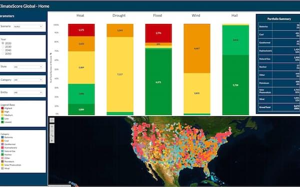 ジュピター・インテリジェンスは特定のエリアの気候変動リスクを算定するソフトを手掛ける