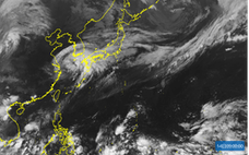 猛烈台風、弱まっても影響大きく 大雨の可能性も