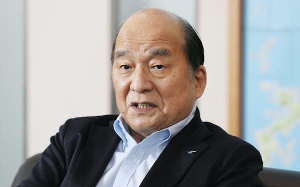 九経連の倉富会長は経済再開に向けた独自基準を示す考えだ