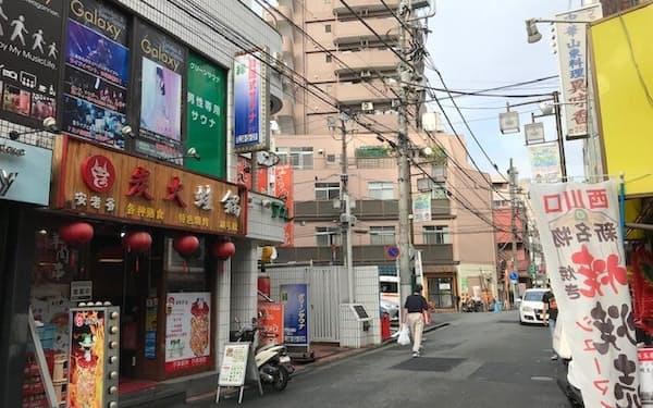 西川口駅周辺には中華料理店が多い