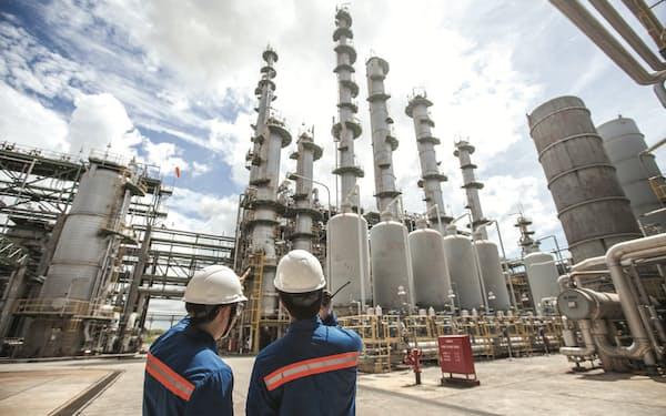 タイの化学品大手SCGケミカルズの生産設備=同社提供