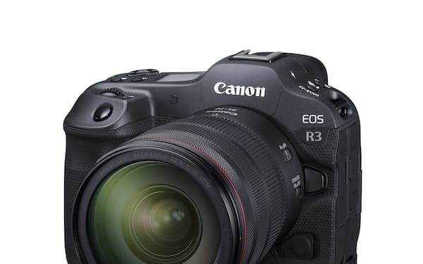 キヤノンのフルサイズミラーレスカメラ「EOS R3」