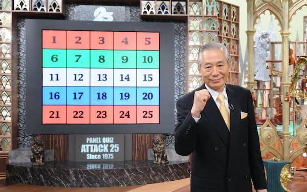 児玉清さんは1975年から2011年まで番組の司会を務めた©ABCテレビ