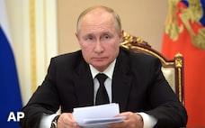 プーチン大統領が自主隔離 新型コロナ濃厚接触者に