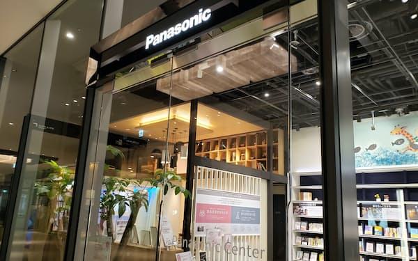 パナソニックはJR大阪駅近くの商業施設「グランフロント大阪」に入る展示場を閉じる