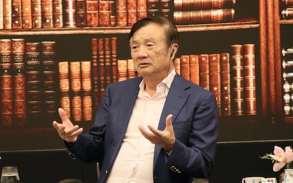 ファーウェイの任正非CEO(広東省深圳市、19年9月)