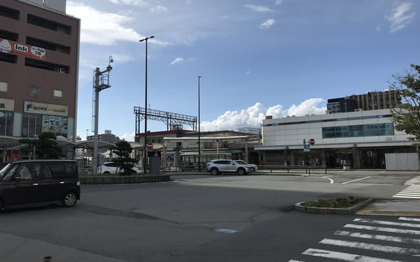 JR沼津駅南口の様子
