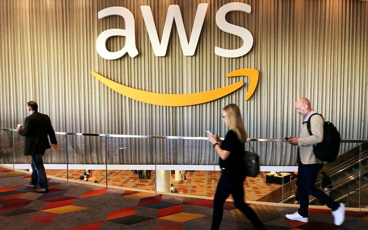 クラウドサービスのAWSは元はアマゾンが社内用システムとして開発した=ロイター