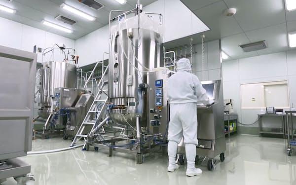 第一三共は館林工場などの生産設備を増強する