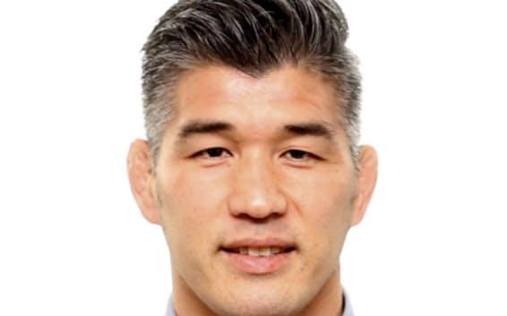 柔道男子日本代表の井上康生監督=共同
