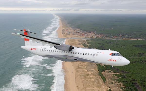 「ATR72-600」2機を使い2022年の就航をめざす