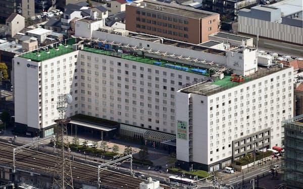 近鉄グループホールディングスは今年3月、「都ホテル京都八条」(京都市)など8ホテルを米投資ファンドのブラックストーン・グループに売却すると決めた
