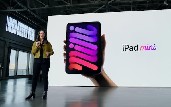 アップルが発表した新しい「iPad mini」