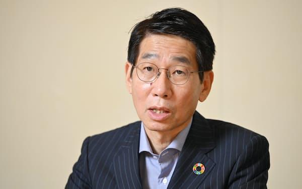 NECの森田隆之社長兼CEO