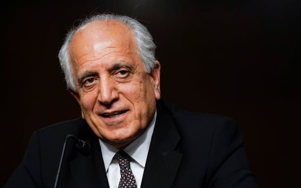 ハリルザド氏は、タリバン側とカブールには侵攻しないと合意していたと話す=ロイター