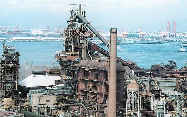 名古屋製鉄所では国内で約30年ぶりとなる熱延ラインの新設も決めている(愛知県東海市)