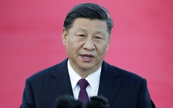 中国の習近平国家主席はTPP加盟にかねて前向きな姿勢を示していた=ロイター