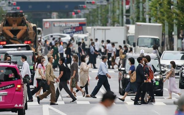 関東大震災からちょうど98年の9月1日。昼、天気は曇り。そこにはいつものにぎわいがあった