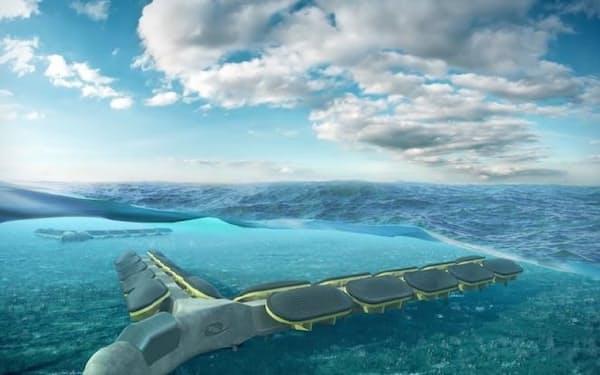 商船三井はボンボラウェイブパワーと協力し、モーリシャスで波力発電の実用化を検討する(写真はイメージ)