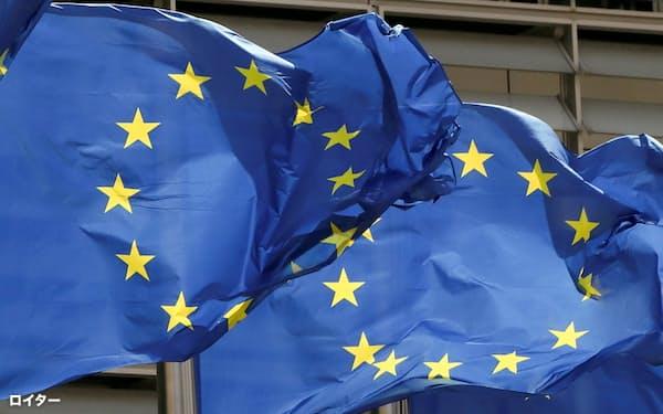欧州独自の防衛力強化を求める声が強まっている(ブリュッセルのEU本部)=ロイター