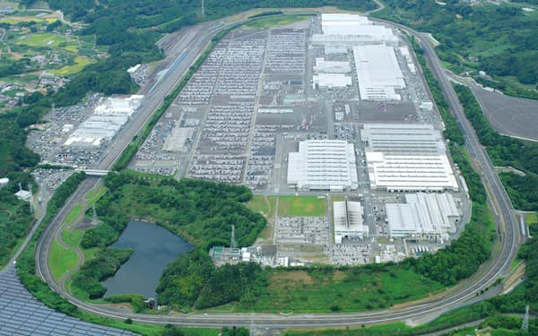 スズキの相良工場(静岡県牧之原市)