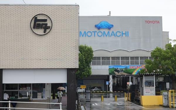 トヨタは9月から大幅な減産に入っている(愛知県豊田市の元町工場)