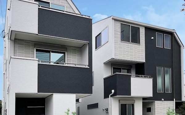 戸建て住宅の需要が伸びた