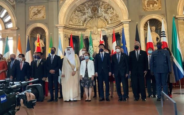 G20農相会合では農業の生産力向上と持続可能性を両立させることの重要性を確認した(イタリア、農水省提供)