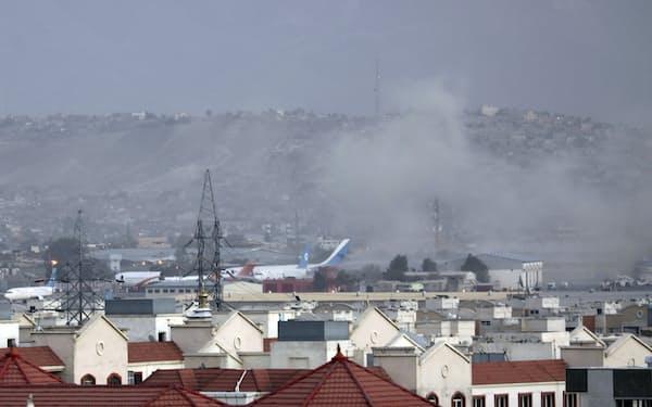 IS―Kは8月26日にカブール空港周辺で自爆テロも起こした=AP