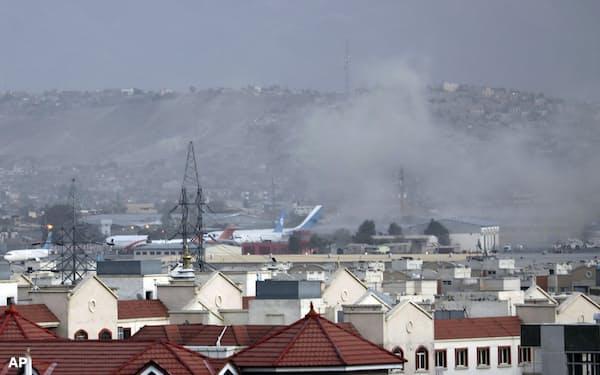 IS-Kは8月26日にカブール空港周辺で自爆テロも起こした=AP