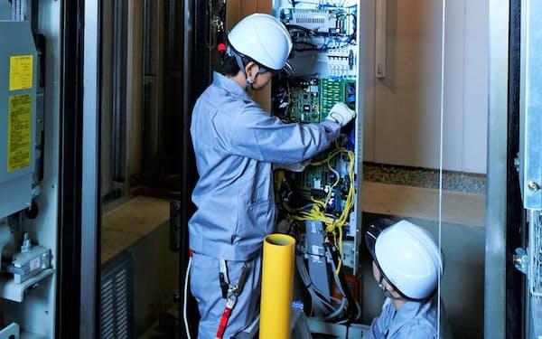 多くのビルでは取り壊しまでに1回はエレベーターを更新する必要がある