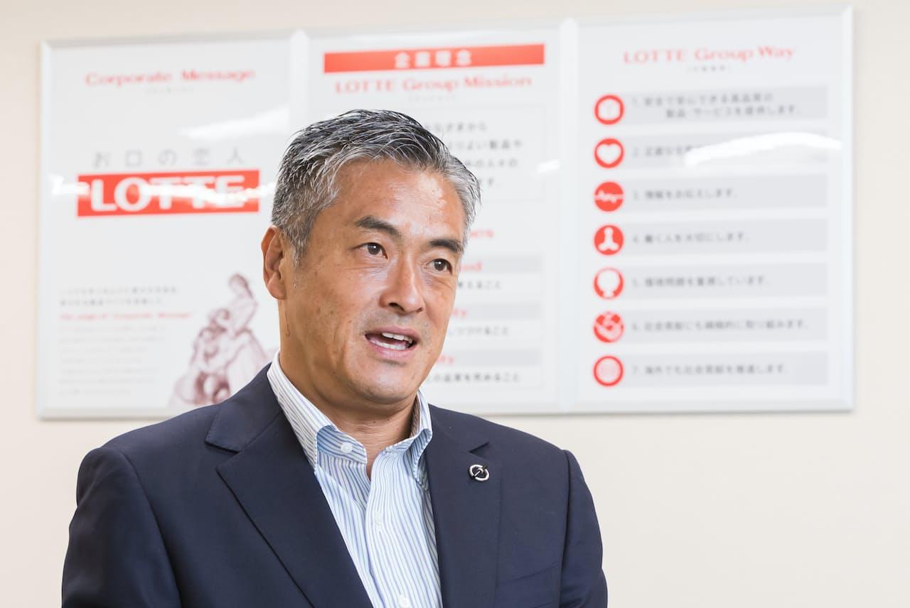玉塚元一・ロッテホールディングス社長
