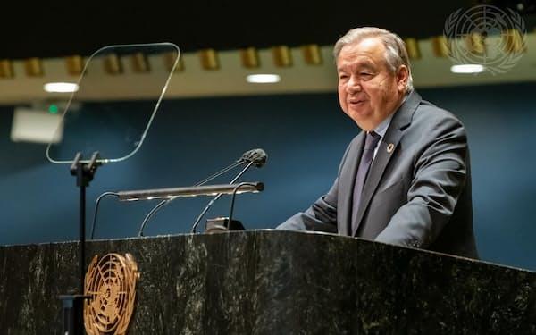 国連のグテレス事務総長=国連提供