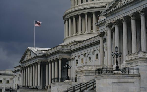 連邦政府の債務上限問題は、米議会の対応が急がれる=AP