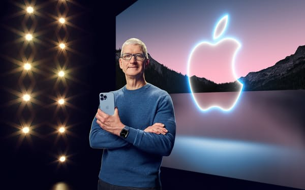 iPhoneやiPadにデザインなどの大幅な変化はなかった=アップル提供