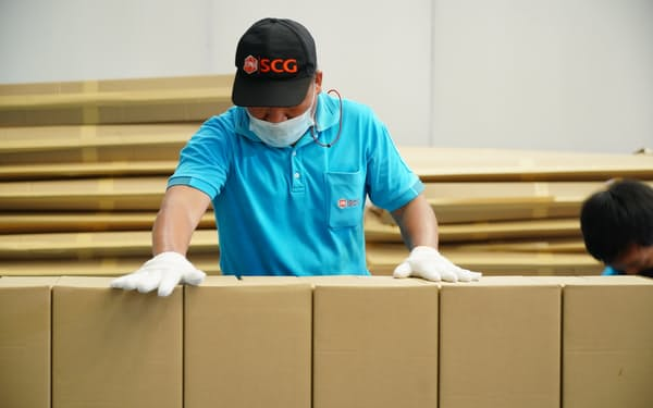 タイのSCGパッケージングは段ボールなどの包装資材を生産