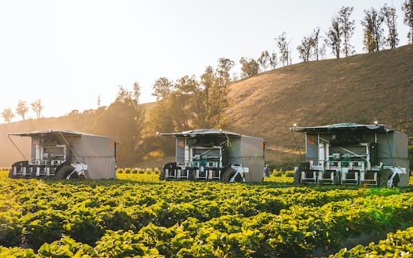アドバンスト社が手掛けるイチゴ収穫ロボット
