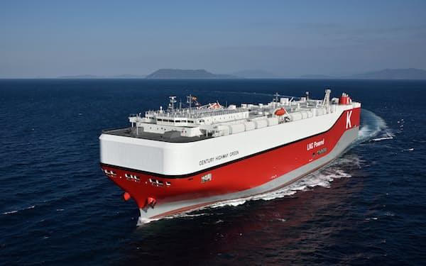 川崎汽船はLNG船8隻の調達を発表した