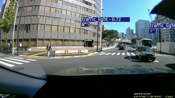 米カーメラは道路状況を解析し、自動運転用の地図に変化を反映する技術に強みを持つ