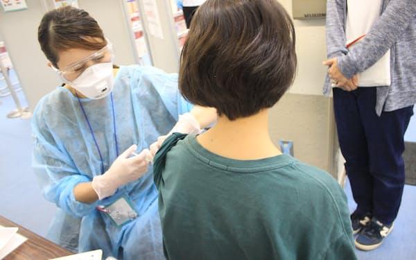 1万6000人への接種を目指している(札幌市)