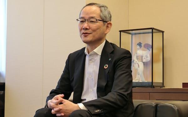 広島信用金庫の川上理事長
