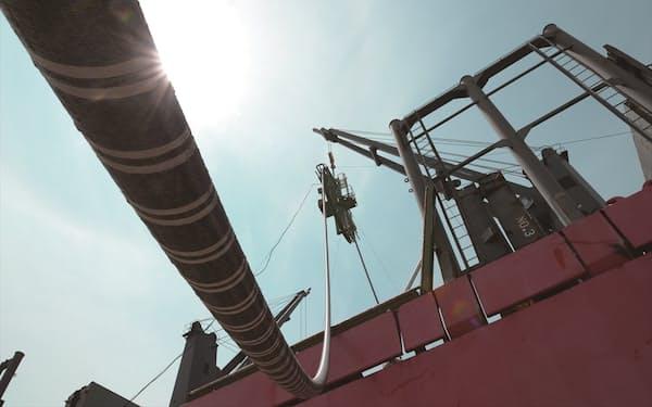 住友電工は欧州で長距離海底ケーブルを受注した