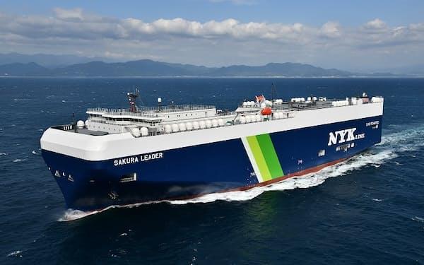 日本郵船は排出枠販売会社へ出資する