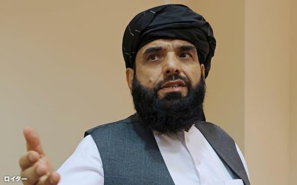タリバンはシャヒーン報道官を国連の新たなアフガン大使として指名した=ロイター