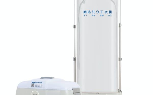 閲潔科技はホテル向けの衣類乾燥機を開発した=同社提供