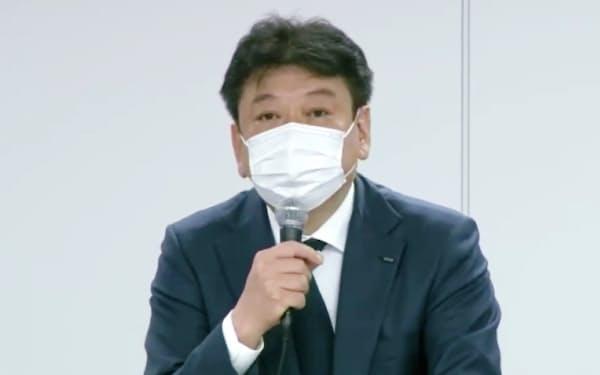 東京電力HDの小早川社長